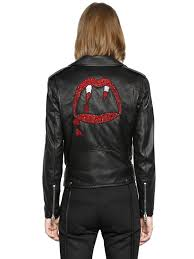 discount leather motorcycle jackets ysl men clothing leather jackets on sale best quality and highest