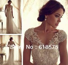 aliexpress com buy 2016 gorgeous full lace bridal gowns sheer v