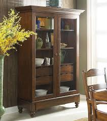 Curio Cabinet With Glass Doors Corner Curio Cabinets With Glass Doors Cabinet Door Storage
