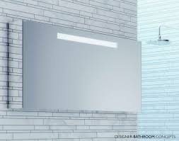 bathroom mirrors best led illuminated bathroom mirror cabinet