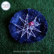 Halloween Crafts Paper Plates by Halloween Paper Plate Spider Web Craft