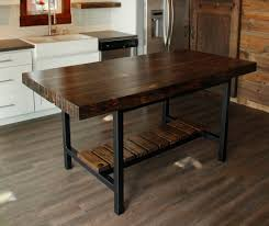 furniture rectangle varnished brown wooden table with shelf also