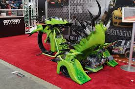 lexus trike youtube 10 wild and wacky 2015 sema show builds motor trend