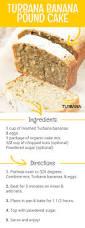enjoy this tasty turbana banana pound cake recipe using turbana