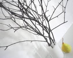 twig home decor twig vase etsy
