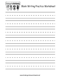 handwriting worksheet for kindergarten koogra