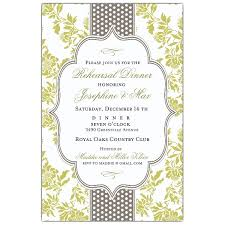 bridal dinner invitations fancy moss gray dot rehearsal dinner invitations paperstyle