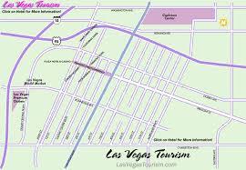 las vegas blvd map vegas downtown map