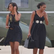 obama dresses malia and obama wearing similar clothes popsugar fashion