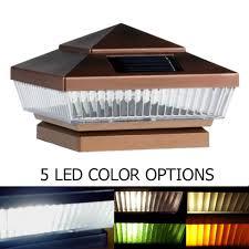 solar post cap lights massagroup co