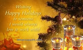 happy holidays wishes for colleagues whatsapp99