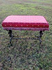 Griffin Piano Bench Cast Iron Antique Benches Ebay