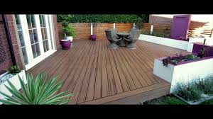 arbordeck trex transcend composite decking tiki torch youtube