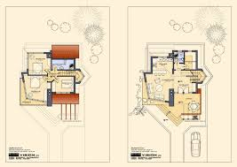 floor plans of lovely ski chalet close to bansko
