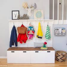 check this out diy mudroom using ikea stuva benches https re