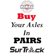 lexus gx470 no heat surtrack front axles shafts pair fits lexus gx470 4runner fj