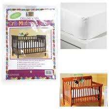 Home Design Waterproof Mattress Pad Vinyl Free Crib Mattress Pad Baby Crib Design Inspiration