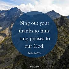 happiness habit sing your thanks to the lord
