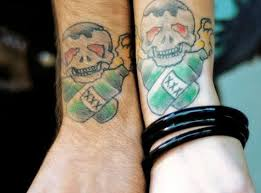 matching skull designs for couples tattoos book 65 000