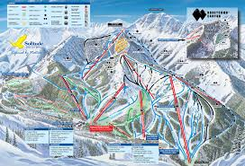 Mt Snow Trail Map Salt Lake City Resort Trail Maps Ski Butlers