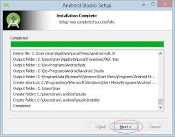 android studio install installing and configuring android studio