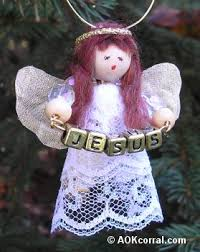 Christmas Decorations Angels Make by Angel Christmas Ornaments How To Make Easy Angel Ornaments