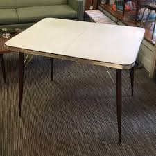 white mid century dining table vintage mid century dining table white formica with gold flecks