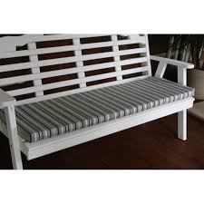6 foot swing bench glider cushion