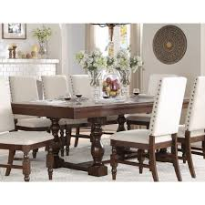 7 piece dining room sets yates 7 piece extendable dining room set bellaria homestore