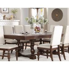 yates 7 piece extendable dining room set bellaria homestore