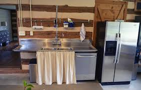 plumbing in a kitchen sink cabin fervor rustic industrial kitchen