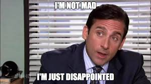 Not Mad Meme - micheal scott is not mad imgflip