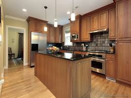 brown kitchen cabinets kitchen cabinets with medium brown wood
