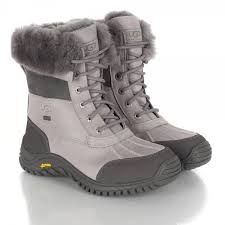 ugg s adirondack boot ii black grey ugg r grey adirondack womens ankle boot