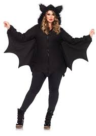leg avenue plus size cozy bat costume