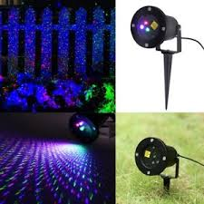 Rgb Landscape Lights Outdoor Garden Lawn Laser Light Rgb Moving Projector Projection