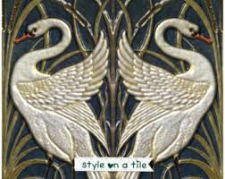 Pictures Suitable For Bathroom Walls Walter Crane Style On A Tile