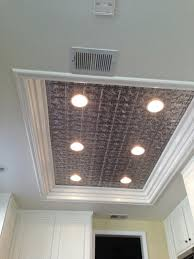 How To Put Up Tin Ceiling Tiles by Elizabethan Shield Faux Tin Ceiling Tile 24