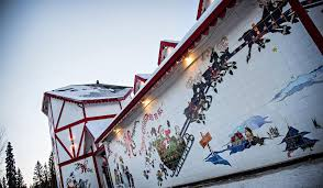 santa claus house north pole ak where does santa live the north pole isn t always the answer