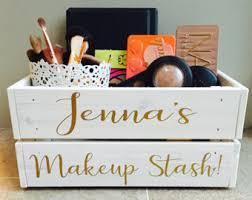 Makeup Gift Baskets Makeup Storage Etsy