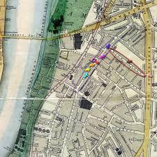 Surrey England Map by Lambeth Walk Street Surrey London England Genealogy Info