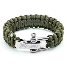 adjustable paracord bracelet buckle images Gecko equipment army green paracord survival bracelet jpg