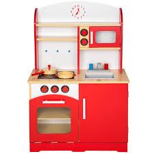 gioco cucina tectake cucina per bambini gioco giocattolo in legno disponibile