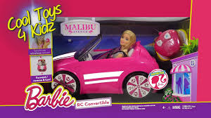 barbie volkswagen barbie rc convertible car youtube
