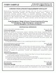 sample resume junior project manager cover letter sample it project manager resume sample it project