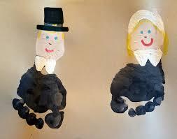 footprint pilgrims and cornucopia crafts crafty morning