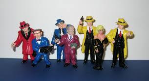 disney halloween figurines 1990 disney applause set of 7 tracy pvc figures