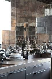 mirror tile backsplash kitchen backsplash ideas glamorous mirrored backsplash tile mirrored
