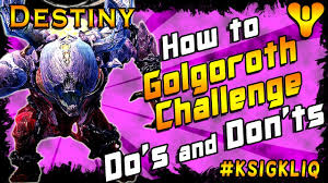 Maps Fall Challenge How To Beat Golgoroth Challenge Do U0027s And Don U0027ts Youtube