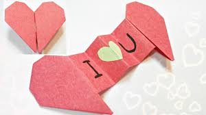 3d origami beginner tutorial diy 3d origami valentine heart envelope love secret message for